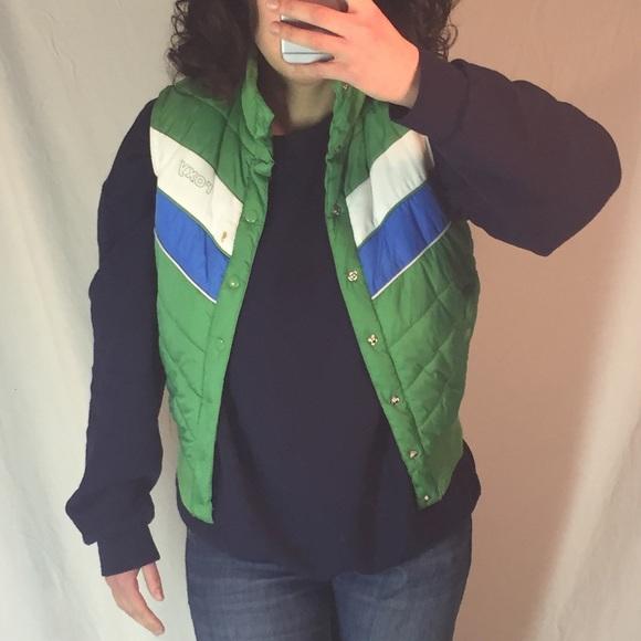 Roxy Jackets & Blazers - ROXY 70's Style Vest